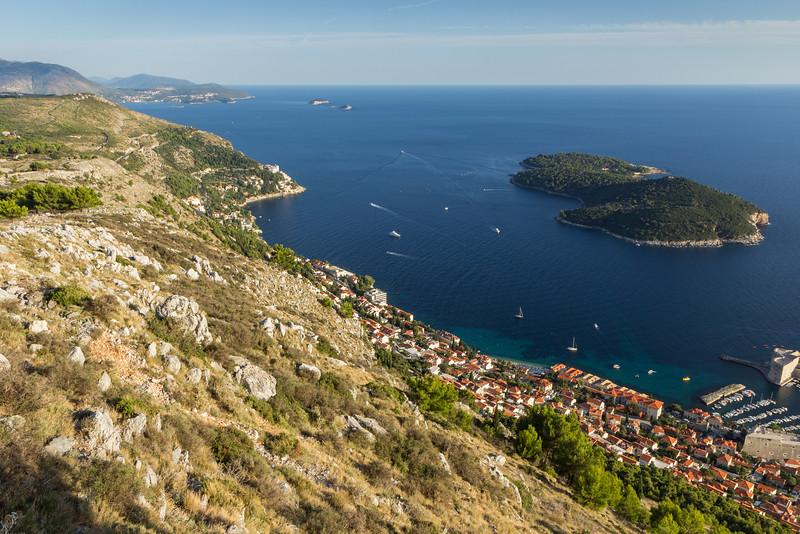 Southeast of Dubrovnik