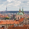 Mala Strana district in Prague at day