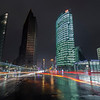 Potsdamer Platz in Berlin at night