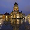 Französischer Dom in Berlin at dusk