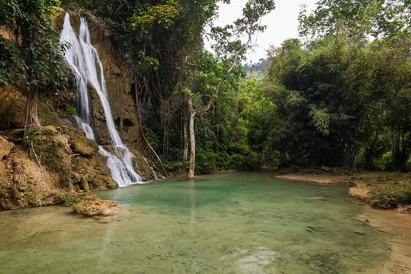 Khoun Moung Keo Waterfall in Laos