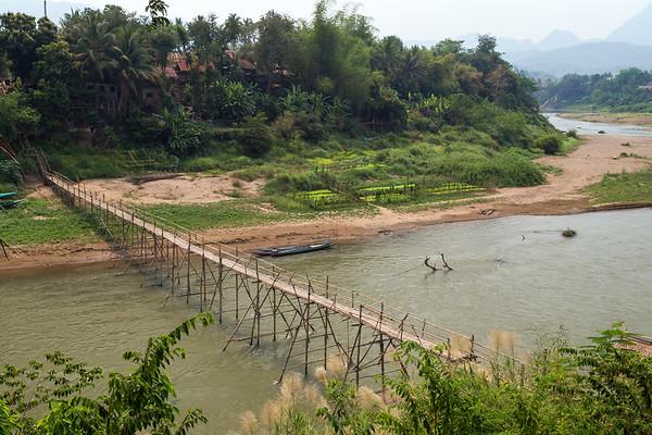 Nam Khan River in Luang Prabang