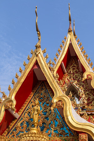 Wat Chanthaburi Temple in Vientiane