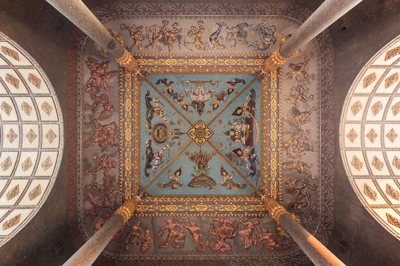 Ceiling at the Patuxai