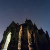 Shwe Leik Too Temple & stars in the sky
