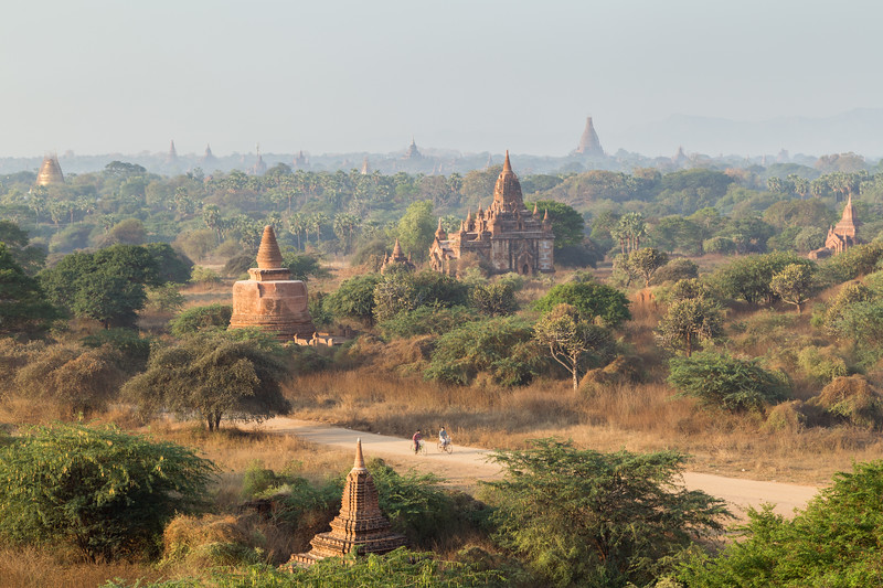 Morning in Bagan