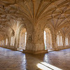 Cloister at the Mosteiro dos Jeronimos in Lisbon