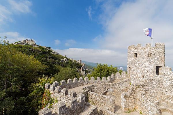 Moorish Castle in Sintra, Portugal