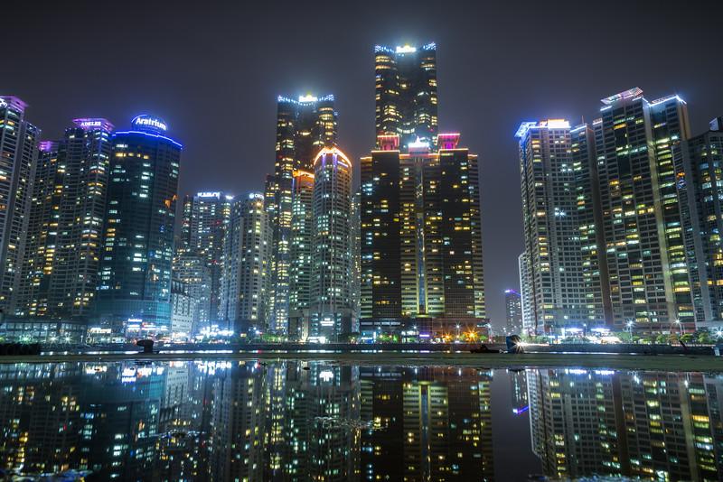Haeundae waterfront