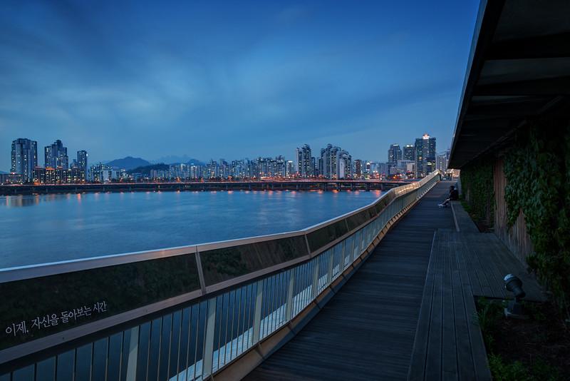 Blue hour in Seoul