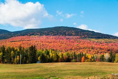 Foliage at East Kennebago Mountain