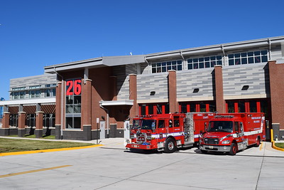 Prince William County Fire and Rescue - Davis Ford Station 26.  This is the first County built fire station in PWC.
