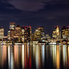 Boston Skyline from Pier Park