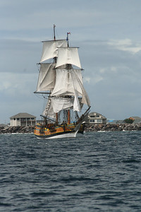 Lady Washington under sail. Photo by Ron Arel / Coastal Images.