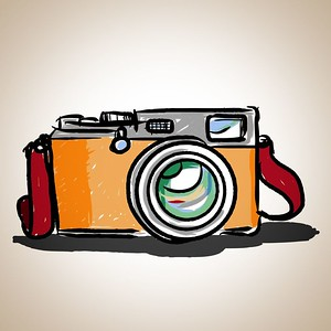 14288701 - camera toy vintage, illustration