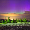 Northern Lights high over the Flathead Valley