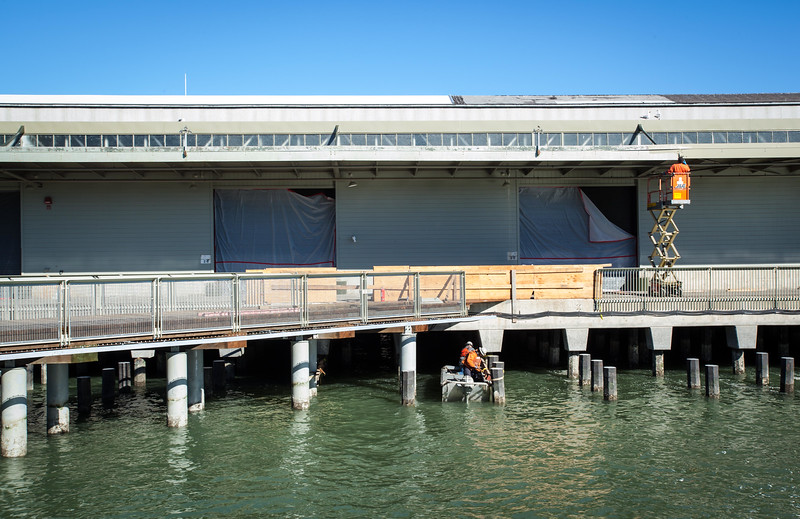 """Profile of Exploratorium's green efforts in its move to San Francisco's Embarcadero<br /> <br />  <a href=""""http://news.yahoo.com/landmark-museum-to-reopen-as-most-eco-friendly-institute-on-earth-195905286.html"""">http://news.yahoo.com/landmark-museum-to-reopen-as-most-eco-friendly-institute-on-earth-195905286.html</a><br /> <br /> Photo essay of the Exploratorium's opening<br /> <br />  <a href=""""http://gizmodo.com/5994274/exploratorium-reborn-inside-san-franciscos-new-shrine-to-innovation"""">http://gizmodo.com/5994274/exploratorium-reborn-inside-san-franciscos-new-shrine-to-innovation</a>"""