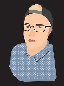 "Zachory Farmer, Darlington County Institute of Technology, ""Self Portrait"""