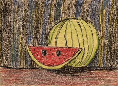 """Ayken Weaver, Cain Elementary School, """"My Watermelon"""""""