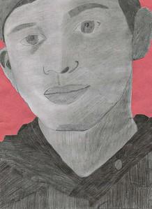 "David Matteson, Darlington Middle School, ""Portrait"""