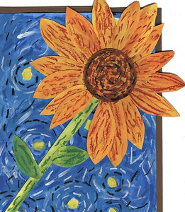 """Autumn Kind, Thornwell School for the Arts, """"Sunflower"""""""