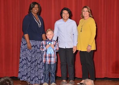 Ayken Weaver, Cain Elementary School