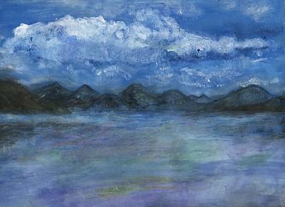 "Jazmyne Parnell, Spaulding Middle School, ""Blue Mountain Range"""