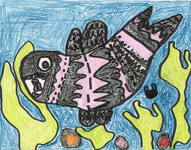 """Nathaly Quiahua, Pate Elementary School, """"The Orca"""""""