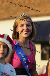 Nicole Johnson, Miss Carpenter (left) was crowned Miss Mitchell County at the Mitchell County Fair on August 28, 2010 and was in the 2010 Bratwurst Day parade, Saturday July 31, 2010 in Stacyville, Iowa. Steve Pope/Photo