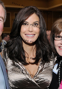Desperate Housewives star Teri Hatcher at the Principal Charity Classic Draw party.