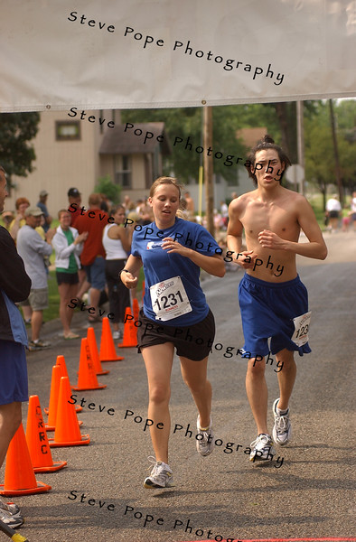 2005 5K and Half Marathon