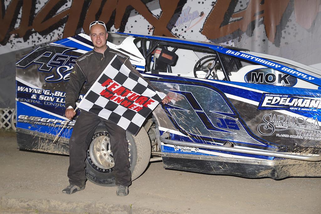 . Limited sportsman winner John Stowell #8, courtesy Kustom Keepsakes, Mark Brown/Ryan Karabin. Reprints and more available at https://nepart.smugmug.com