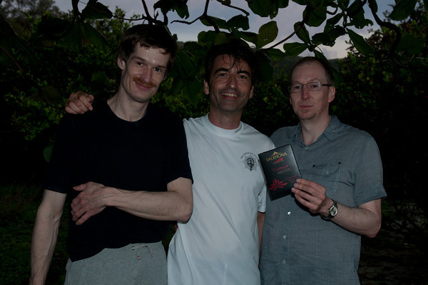 Alex Rast, Frank Homan and Martin Christy.