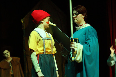 Georgie in Shrek Musical Thomas Johnson High School Dec. 13, 2014