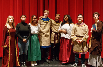 """TJHS Acting 2 Class """"Much Ado About Nothing"""" 2nd half Jan 22, 2018"""