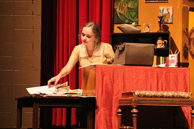 """Georgie in """"You Can't Take it With You"""" Thomas Johnson High School play Nov. 22, 2014"""