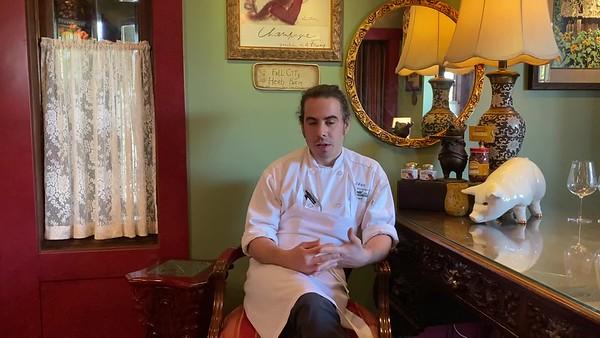 Chef Chris Weber, The Herbfarm