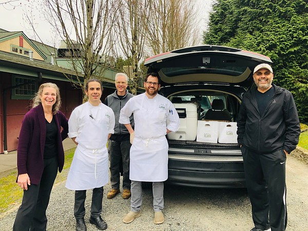 The Herbfarm Pickup Before Heading to Overlake