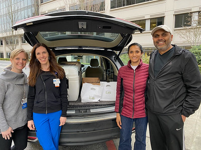 Mr. and Mrs. Vaidya Deliver to Overlake Hospital!