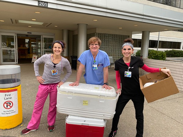 Delivery to Kaiser Permanente