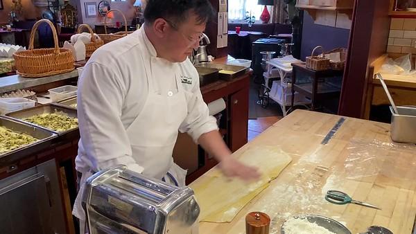 The Herbfarm's Chris Christian Rolling Pasta