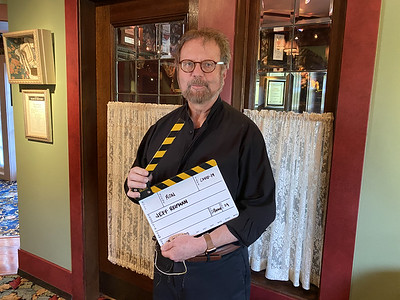 Co-Proprietor Ron Zimmerman helping with Video Production
