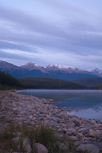 Patricia Lake at dawn - Jasper