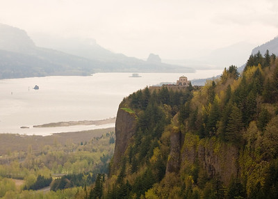 Vista House and the Columbia River