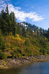Bagley river - Mt Baker