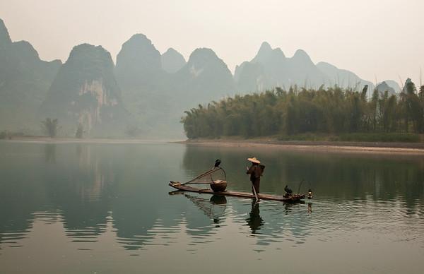 Fisherman - early morning