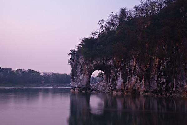 Elephant Hill at dawn.