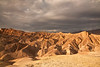 Surrounding badlands in the late afternoon - Zabriskie Point