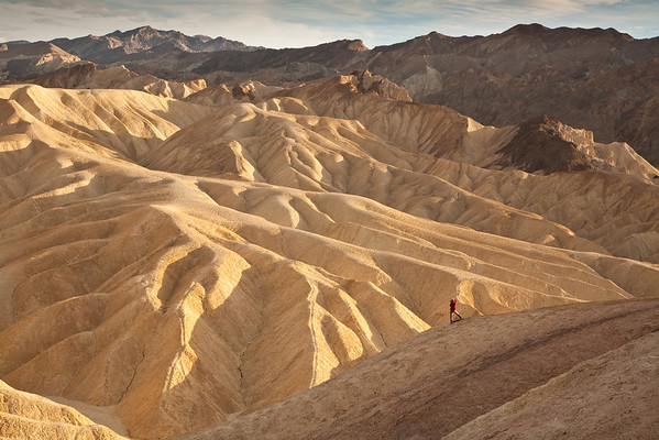 The lone photographer - Zabriskie Point