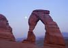 DELICATE ARCH.   The most recognized arch in the Park.  This free standing arch spans 33 ft and is 45 ft tall.